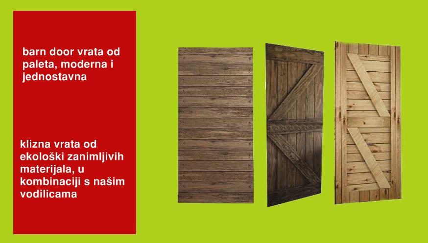 drvena klizna vrata od paleta