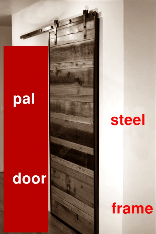 alt=vrata sa metalnim okvirom