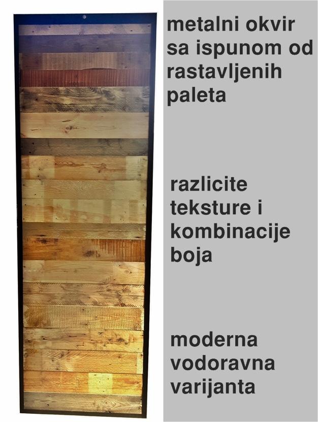 vrata od paleta vrata sa ispunom palete diosklop klizna vrata vodilice za vrata