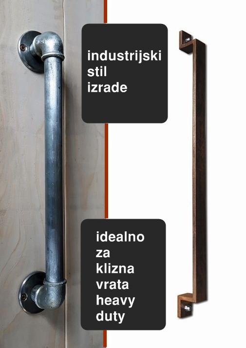alt=ručke za klizna vrata industrijski stil