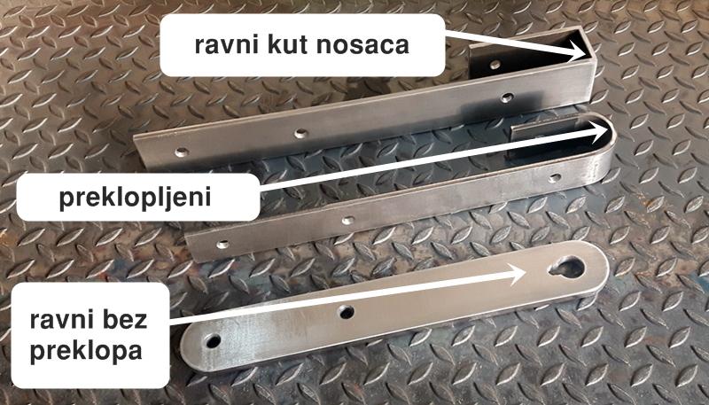 diosklop vrste nosača kotača za klizna vrata vodilice za klizna vrata