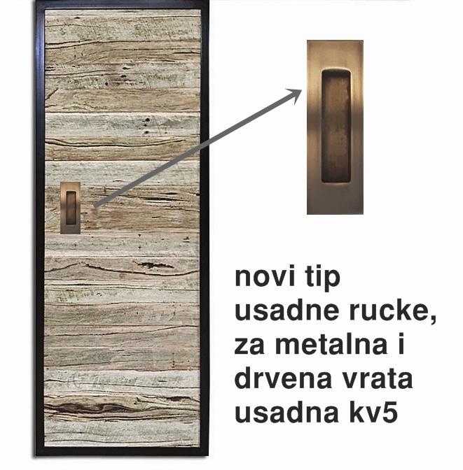 alt=kv5 usadna ručka za klizna vrata