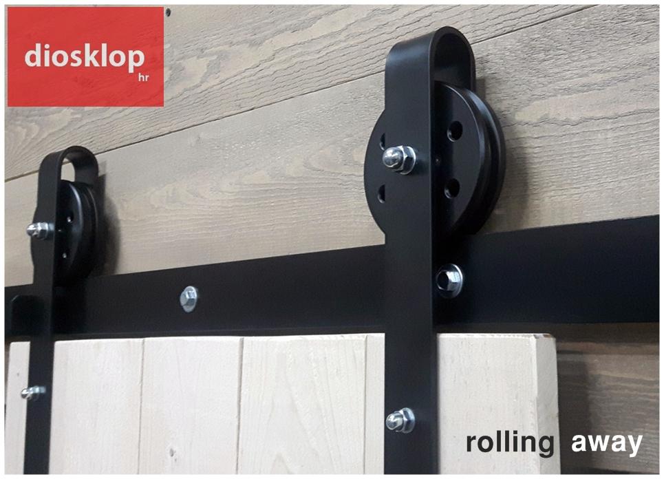 vodilice barn door hardware za klizna vrata