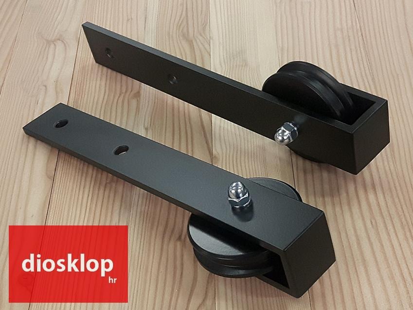 diosklop rustikx vodilice za klizna vrata barn door hardware single door okov za vrata okovje za enokrilna vrata okov za vrata hr vodilice za vrata rs okovje za vrata si