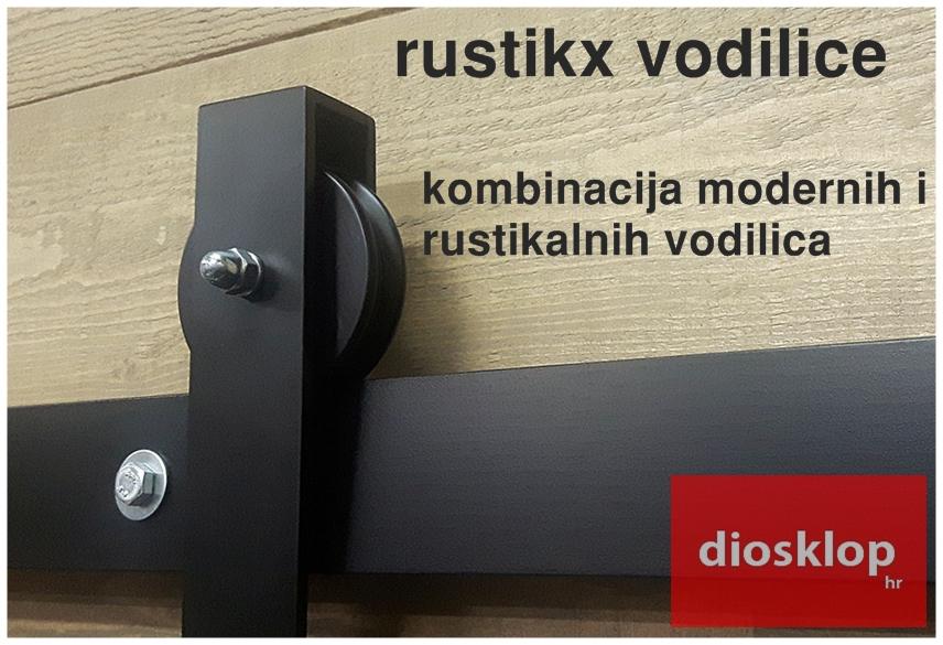 okov vodilice za klizna vrata rustikx