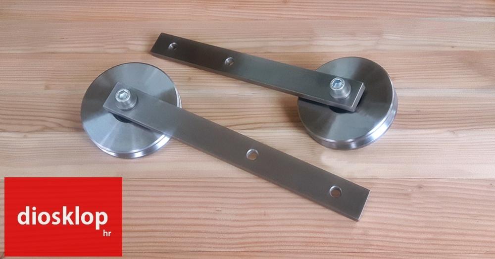 nosači kotača za barn door vodilice veliki kotači za vodilice za klizna vrata diosklop kotači za klizna vrata diosklop barn door hardware