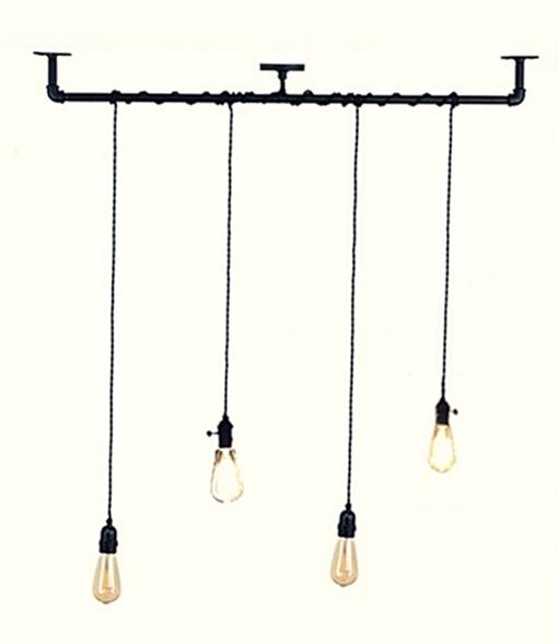 rasvjeta industrijski stil žarulje retro stil