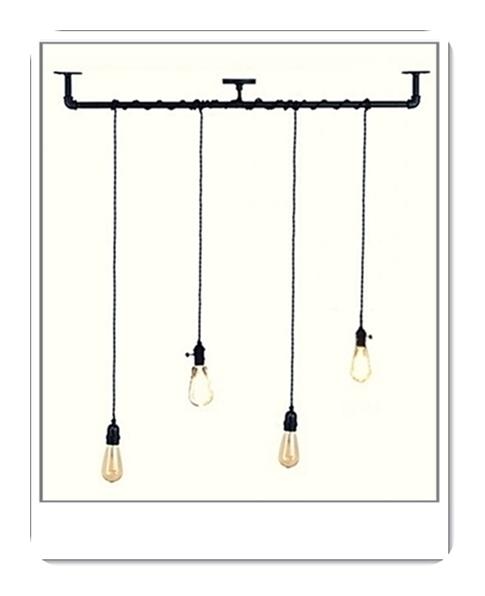 osvjetljenje industrijski stil pult rasvjeta stropna žarulje lampe