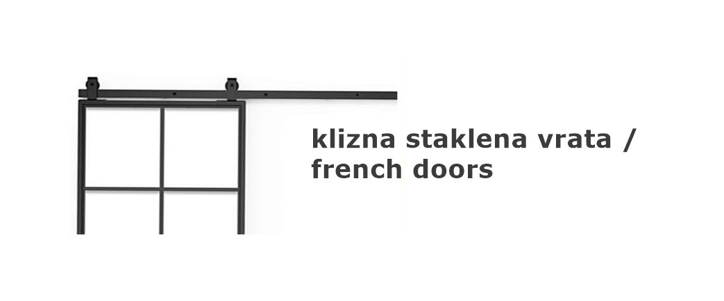 francuska vrata diosklop, staklena klizna vrata, vrata po mjeri, vrata visoki stil